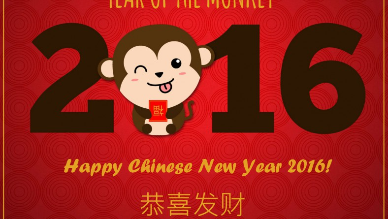Happy Monkey Year